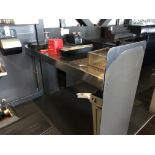 """72"""" Stainless Steel Waitress Serving Station"""