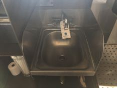SS Hand Sink w/Paper Towel Dispenser
