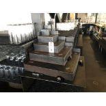 (2) Steel Bottle Risers