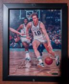 "Dave Cowens Photo, Framed, Signed :Dave Cowens"" (Holograph #AUE35383)11""x9"""