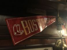 Metal Crafted Boston Red Sox Banner