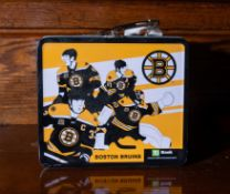 Boston Bruins Metal Lunch Box w/ TD Bank Logo