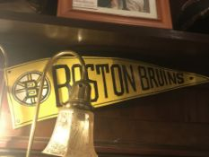 Metal Crafted Boston Bruins Banner