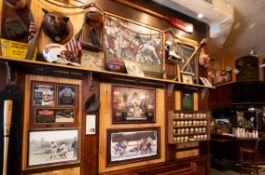 Day 1 - BOSTON LANDMARK SPORTS BAR - 1000+ PCS MEMORABILIA - ALL MAJOR SPORTS - JERSEYS - PHOTOS - PENNANTS - CARVINGS - ETCHING