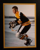 "Bobby Orr Bruins #4 Photo, 20""x16"""