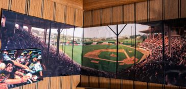 "Fenway Park Panorama View, Approx. 30""x9"""