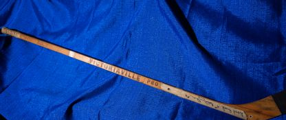"""Stamped and Signed Bobby Orr Victoriaville Pro Hockey Stick, Signed """"Good Luck 4's Bobby Orr #4"""" 3"""