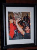 "Red Sox World Series Winning Photo, 15""x12"""