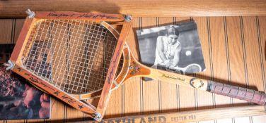 "Vintage Tennis Racquet, ""Newport Hall of Fame"" 27"" length"