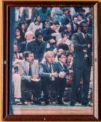 "Celtics Ford, Rogers, Jones, and Jennings Framed Photo 12""x15"""