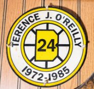 Terrence J O'Reilly, HOF Memento Patch, 8""