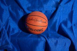 """Spalding Basketball, Signed """"John Havlicek"""""""