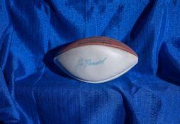 "Wilson NFL Football, Signed ""Joe Namath"" , 12"""