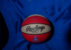 "Rawlings Basketball Official ABA Signed ""Julius Erving"""