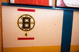 "Facsimile Boston Bruins Hockey Boards 8'x43"""
