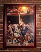 "Bill Walton Celtics Lakers Framed Photo 31""x44"""