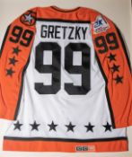 "Wayne Gretzky 39th All Star Game Jersey Framed 32""x38"""