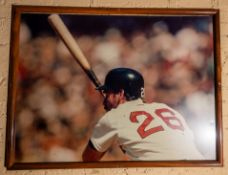 "Wade Boggs Framed Poster 42""x32"""