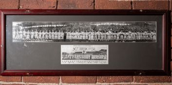 "1912 Opening Day Team Photo Red Sox Vs. Yankees Framed Photo 35""x14"""