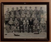 "Bruins Team Framed Photo 15""x12"""