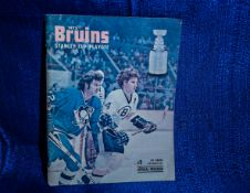 Bruins 1975 Playoff Program