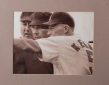 "St. Louis Cardinals/ Umpire Framed Photo 15""x12"" Jon Keane Manager"
