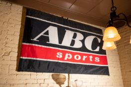 "ABC Sports Banner 72""x42"""