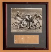 "1923 Penn Yale First Touchdown In Game Framed Photo 11.5""x12.5"""