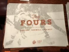 (Lot) The Fours Paper Placemats
