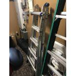 Werner Aluminum Multi Function 21' Ladder (Folds Up) (WYOMING, RI LOCATION)