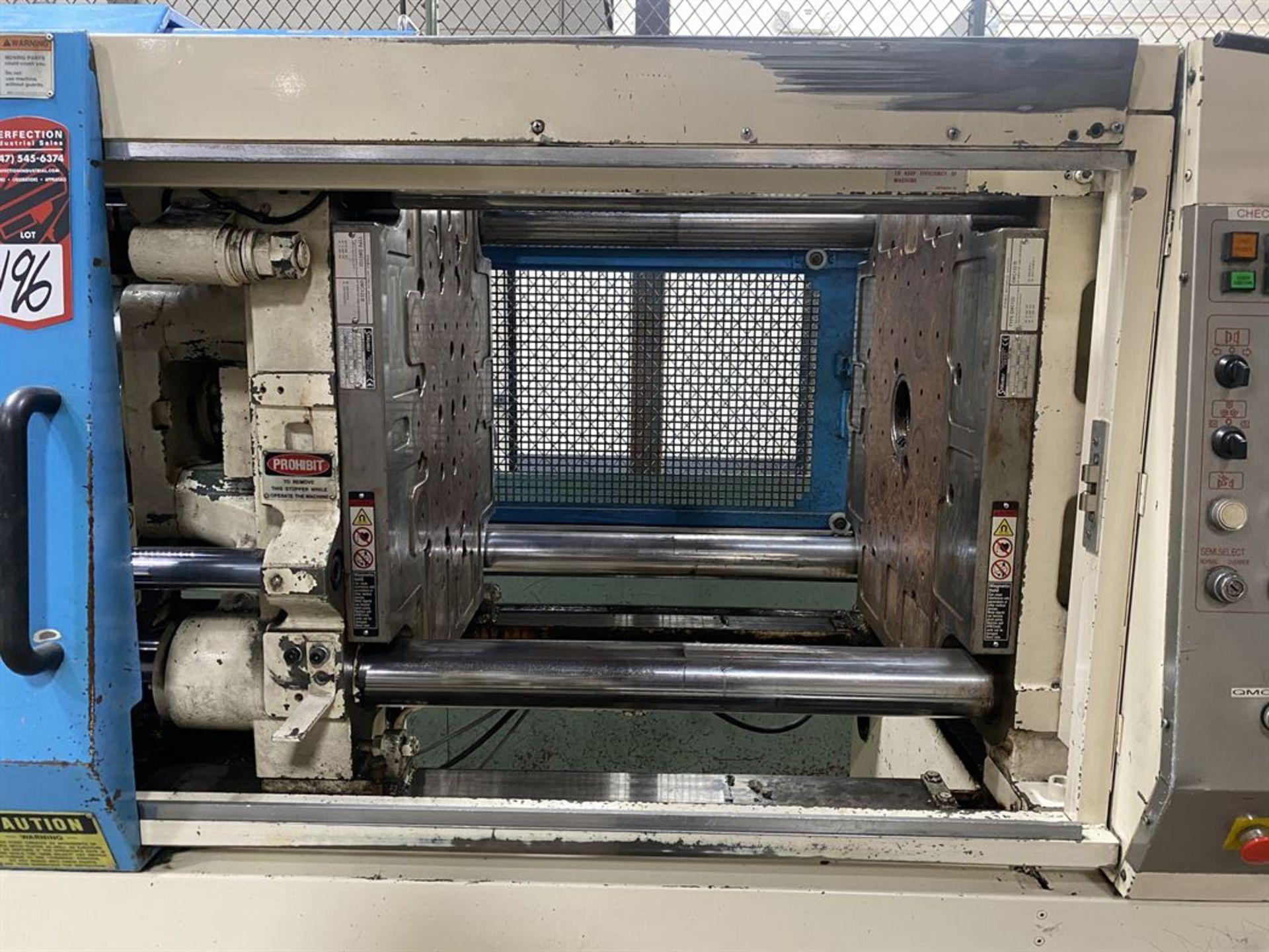 Lot 196 - NISSEI FN4000 200 Ton Hydraulic Injection Molder, s/n S18S297, w/ 14 oz Shot Size, GP Screw,