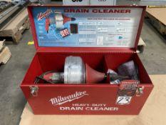 Milwaukee Heavy Duty Drain Cleaner, 450 RPM