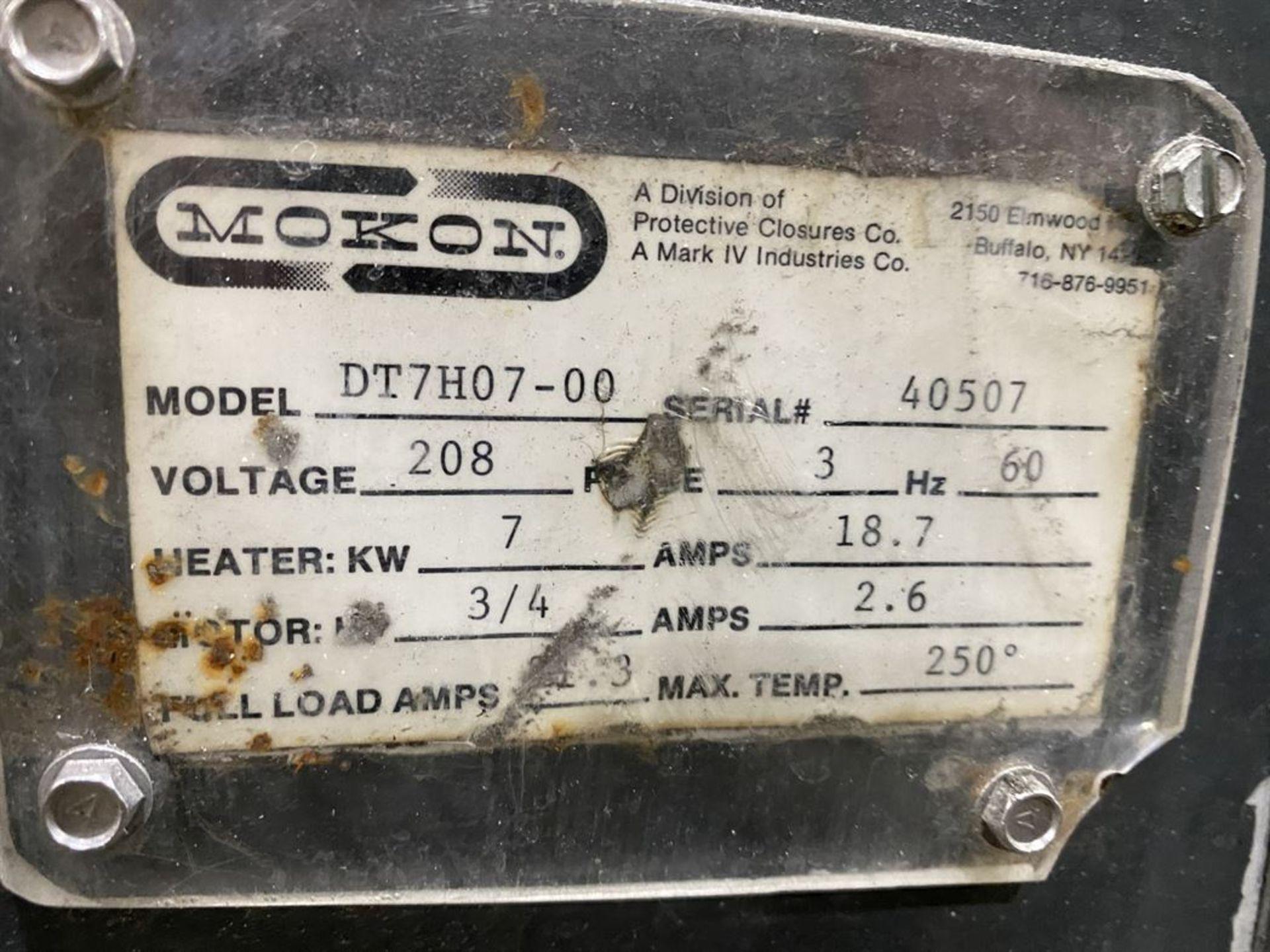 Lot 244 - Mokon DT7H07-00 Temperature Control, s/n 40507