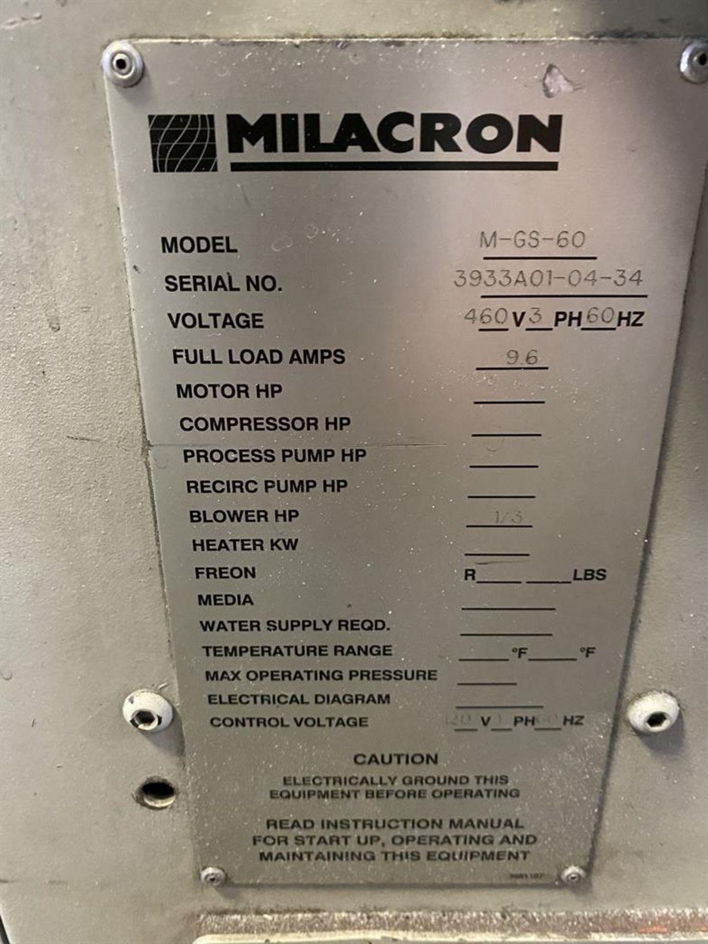Lot 218 - Cincinnati Milacron M-GS-60 Hopper Dryer System, s/n 3933A01-04-34, w/ Vacuum Loader