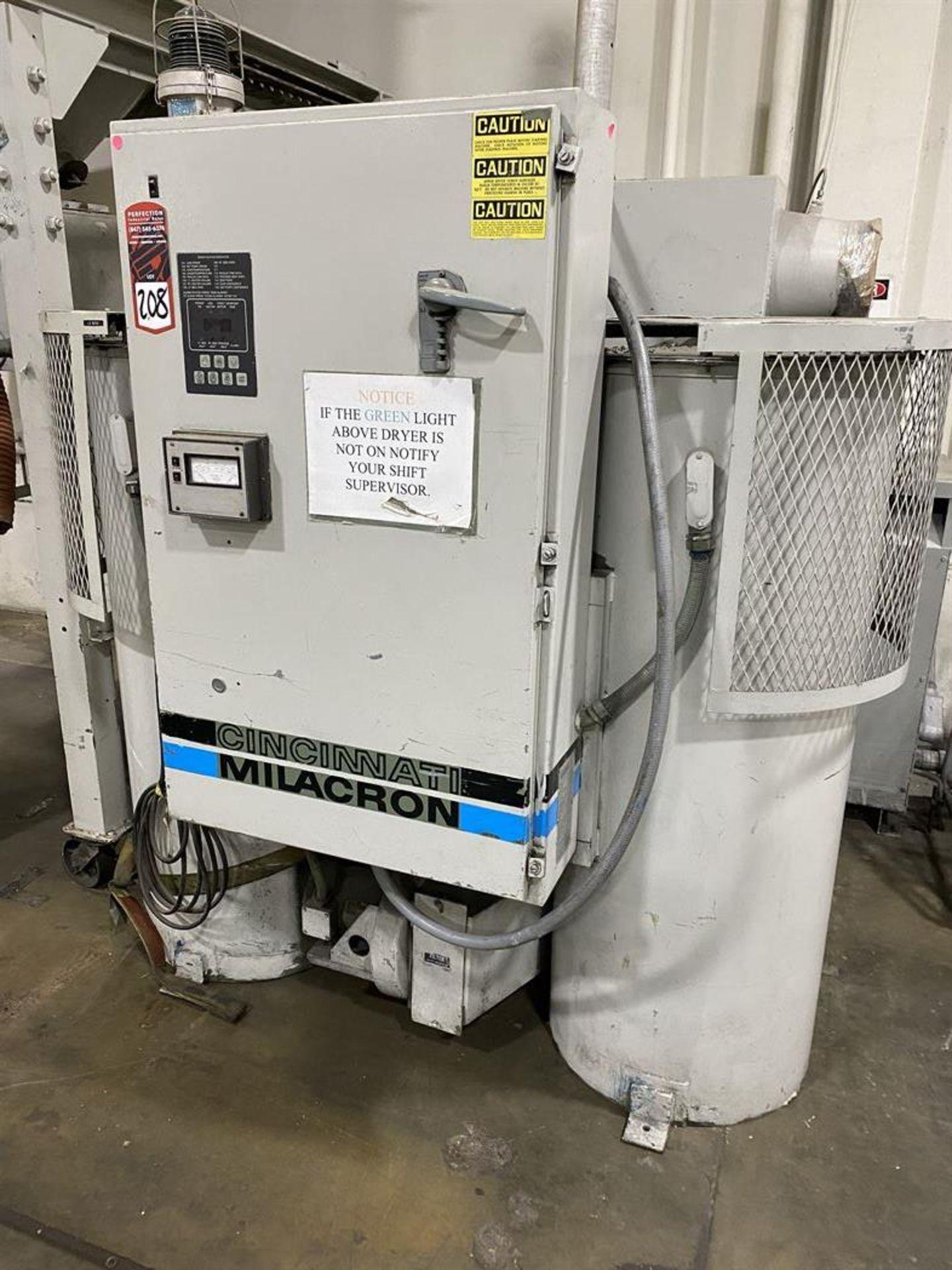 Lot 208 - Cincinnati Milacron DD-1000 Hopper Dryer System, s/n 3933A01-85-48