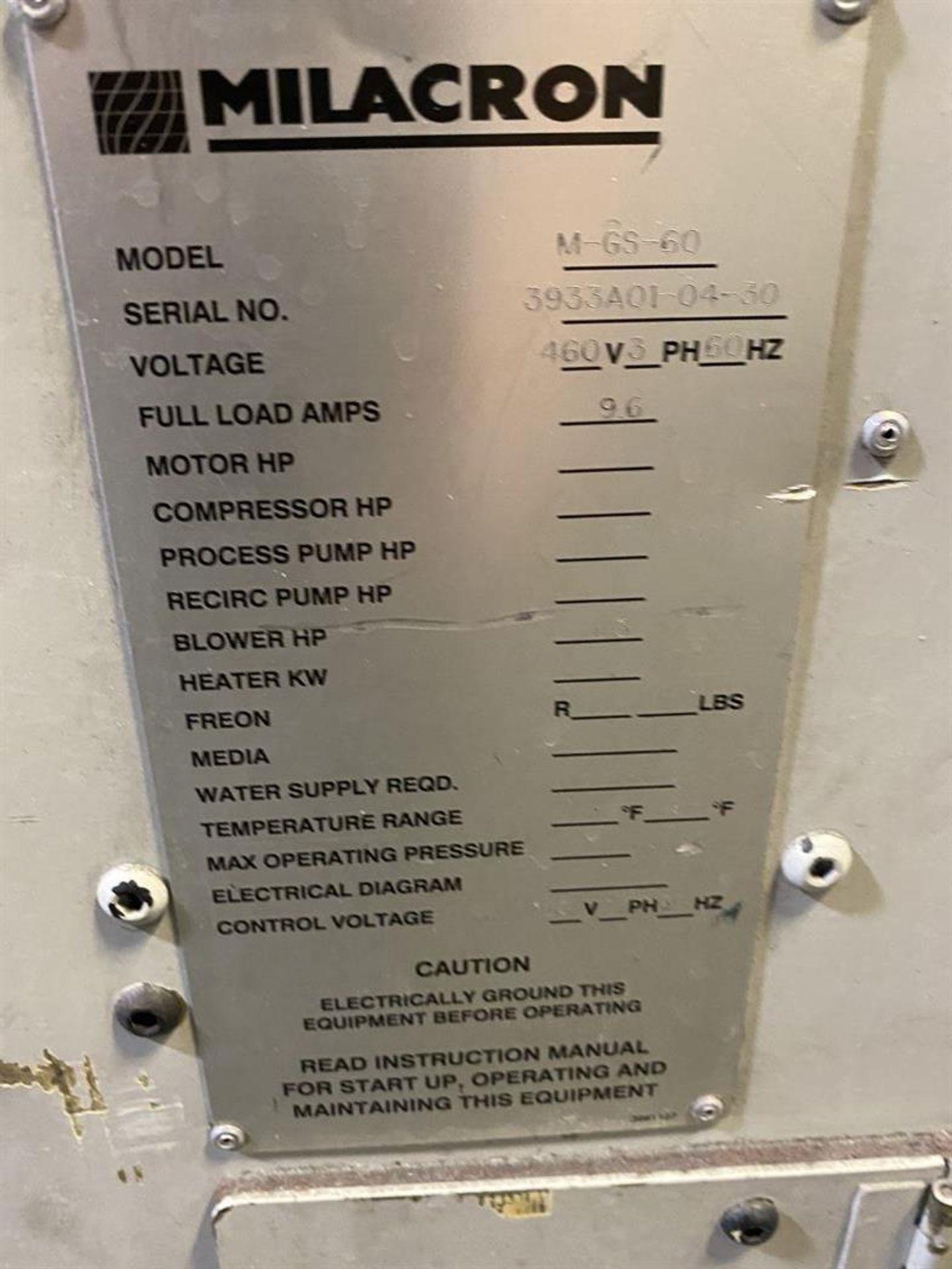Lot 221 - Cincinnati Milacron M-GS-60 Hopper Dryer System, s/n 3933A01-04-30, w/ Vacuum Loader