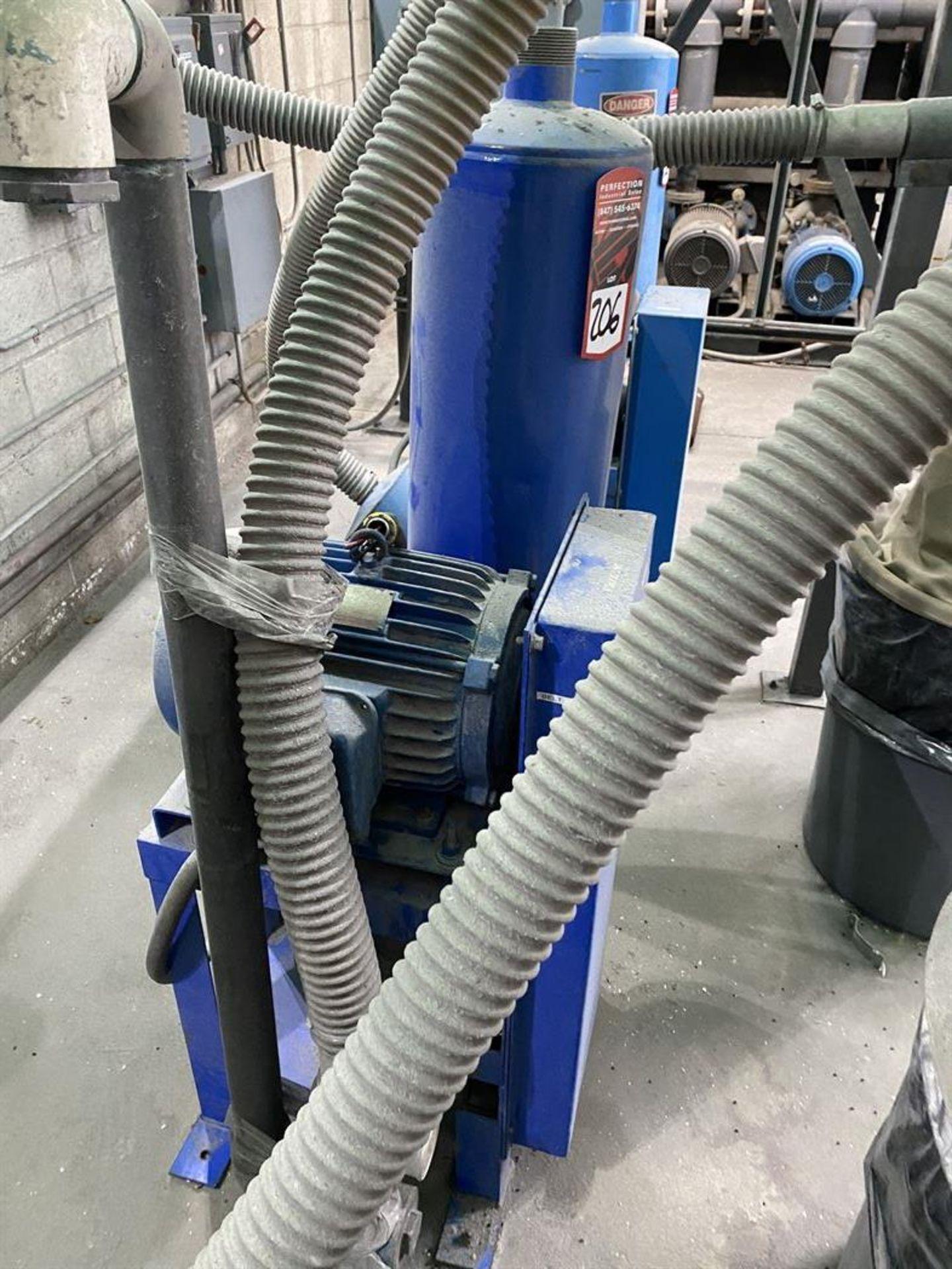 Lot 206 - PNEU CON Pneumatic Conveying System, w/ (2) x 7.5 HP, (1) x 10 HP Blowers