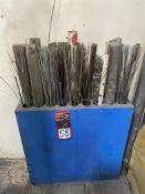 Welding Rod Rack w/ Assorted Welding Rod