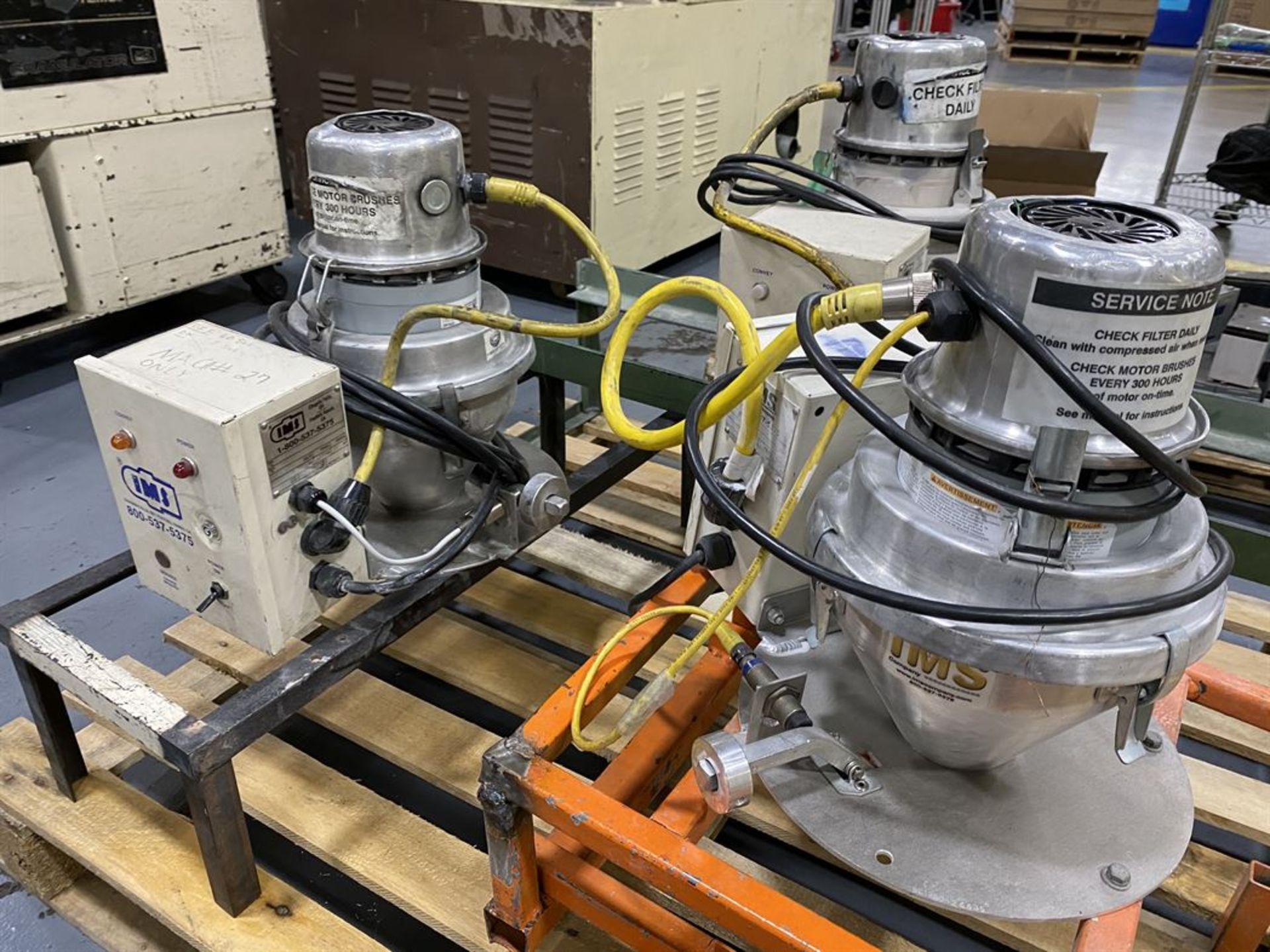 Lot 253 - Lot of (3) IMS Vacuum Loaders