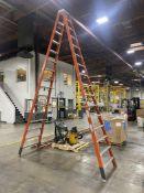 Green Bull 204216 16' Fiberglass Step Ladder