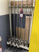 Rack w/ Wilton 6540B L-Clamps and