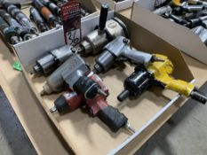 Lot of Assorted Pneumatic Impacts