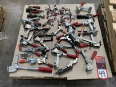 Lot of Destaco Clamps