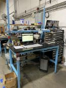 """Workplace Auto-Lift Work Bench, 30"""" x 60"""" (No Contents)"""