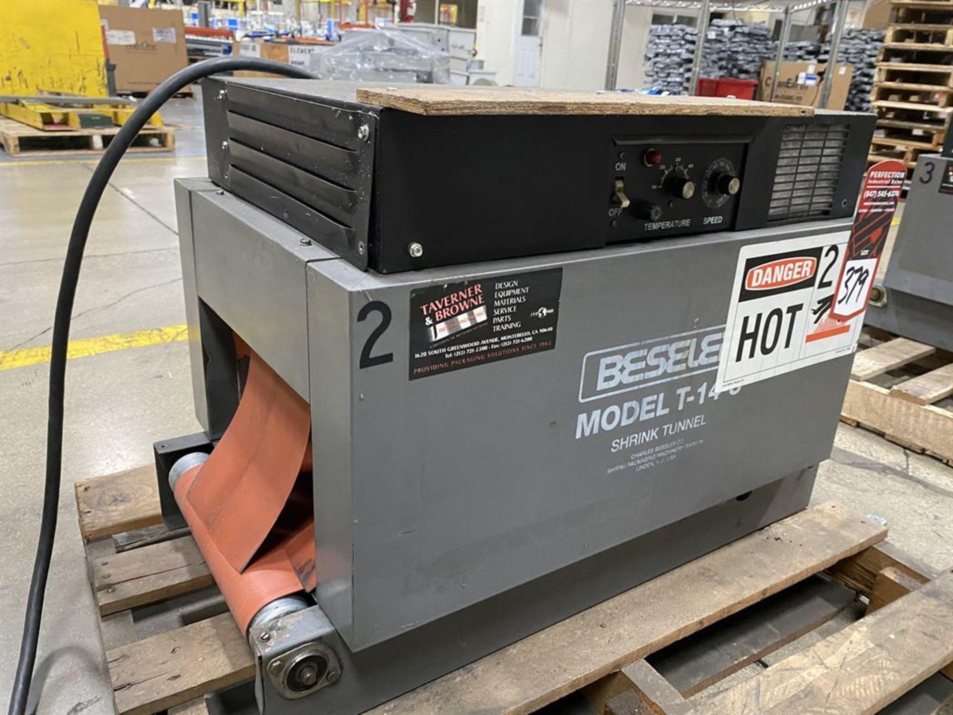 Lot 379 - Beseler T-14-8-D Heat Shrink Machine, s/n 11950950