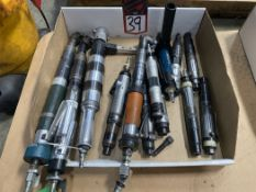 Lot of Assorted Pneumatic Straight and Right Angle Tools