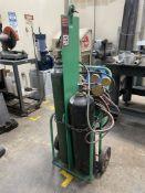 Torch Cart w/ Regulators, Hose and Wand