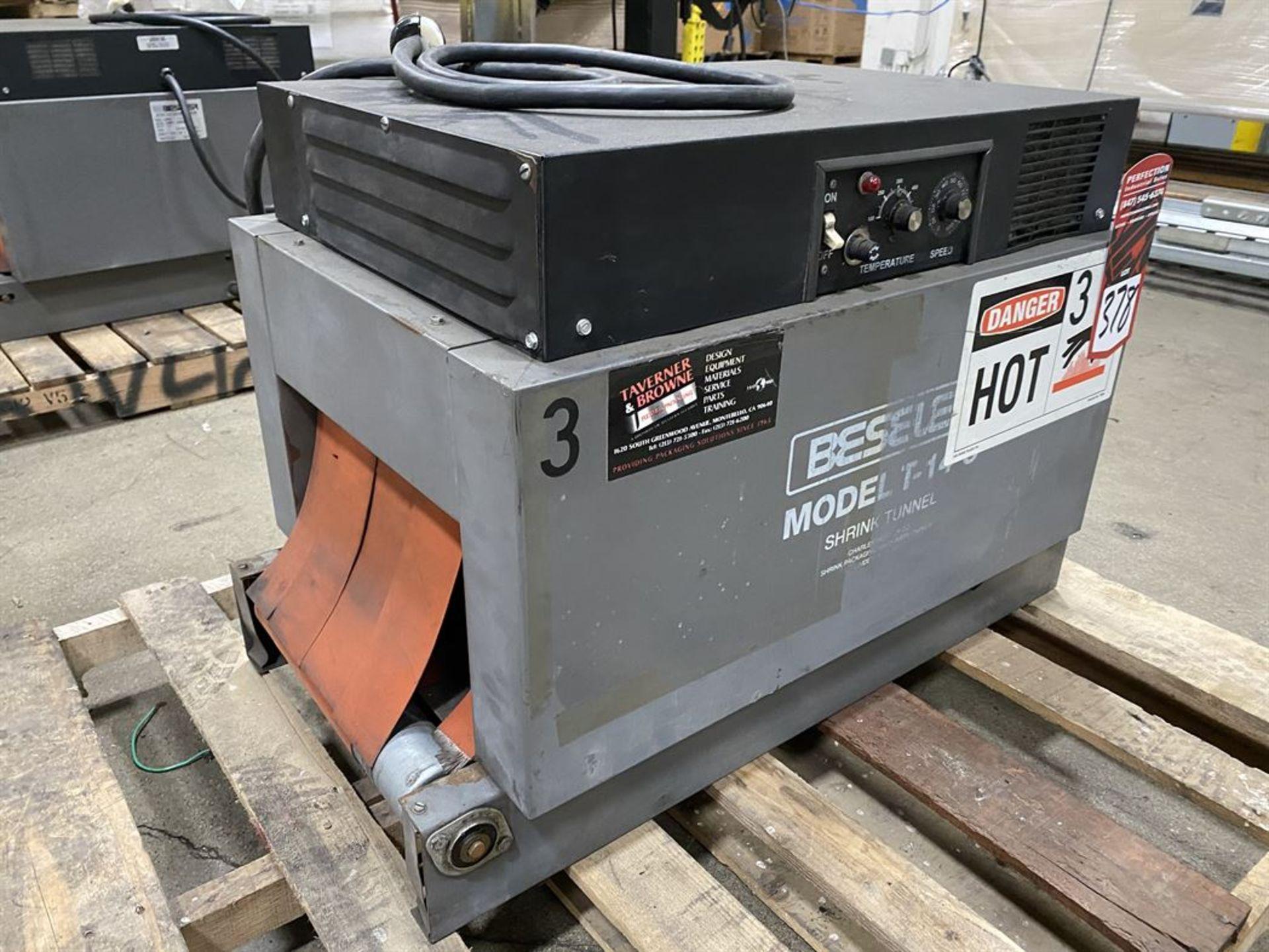 Lot 378 - Beseler T-14-8-D Heat Shrink Machine, s/n 11950945