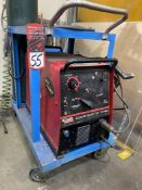 Lincoln Square Wave TIG 175 Pro Welding Power Source, s/n U1010103515
