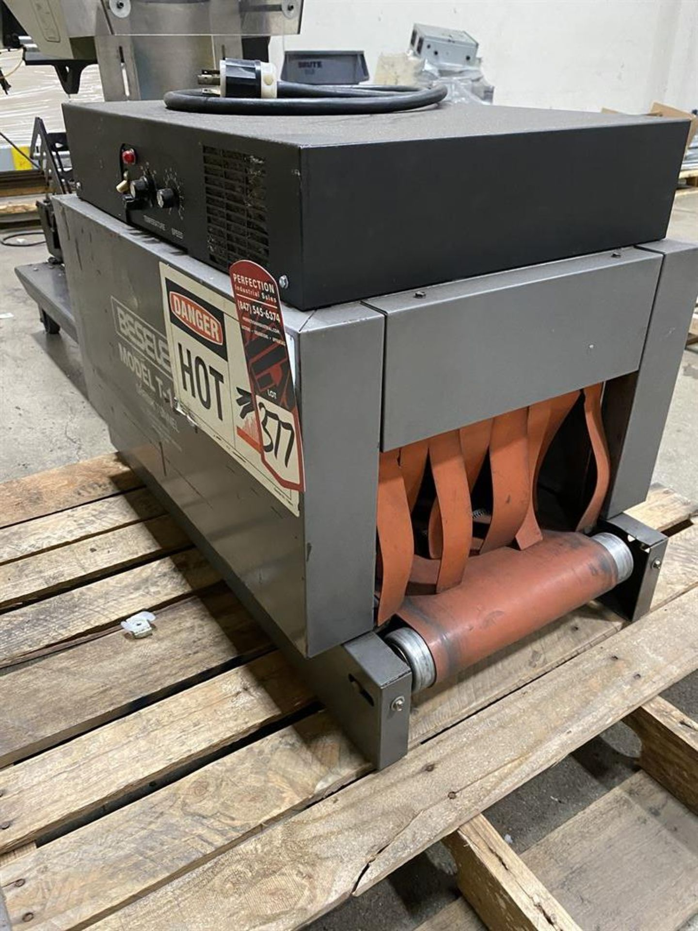 Lot 377 - Beseler T-14-8-D Heat Shrink Machine, s/n 009960613